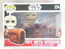 FUNKO POP VINYL | SDCC 2017 GALACTIC CONVENTION | STAR WARS REY with SPEEDER 174
