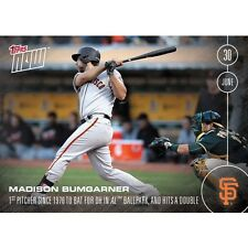 2016 Topps Now #196 Madison Bumgarner  In Hand FREE Shipping  Print Run: 506