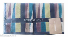 MISSONI HOME BRANDED PACK  ROMY 170 TWO HAND TOWELS SET COTTON VELOUR