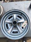 15x6 pontiac rally II wheel, 4 3/4 bolt pattern, gto, firebird,