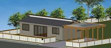 2 Bedroom DIY Granny Flat Kit - The Seascape 72 on Gal Chassis - FC Weatherboard