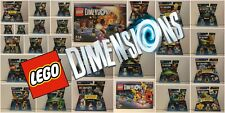 Lego Dimensions - Fun Pack, Level Pack, Team Pack, Story Pack - choose from menu