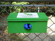 One Roll Canine Waste Bag Dispenser + 600 Blue Biodegradable Pet Poop Bags #41.5