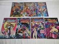 Jack Kirby Phantom Force LOT #0-8 (missing 1 & 2) #0 3 4 5 6 7 8 Genesis West