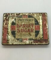 Vintage Rare Sweetacres Medical Barley Sugar Tin / 6oz. Rare / Empty