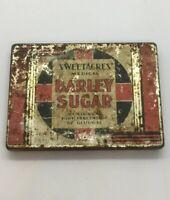 Vintage Rare Sweetacres Medical Barley Sugar Tin / 6oz. Rare / Empty