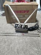 Vintage Sony VCA1 Car TV Rabbit Ears Antenna RARE Old school Lowrider Accessory