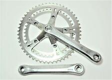 """VINTAGE SR SAKAE CX BICYCLE 170 MM 52/42 TOOTH JIS CRANKSET 110 MM BCD 9/16"""""""