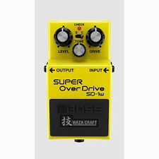 BOSS SD-1W SUPER Overdrive Waza Craft Special Edition Guitar Effects FX Pedal