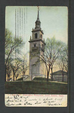 190? EVACUATION MONUMENT SOUTH BOSTON MASS UDB UNDIVIDED BACK POSTCARD