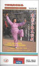 The orthodox chinese tai ji sword (VHS) Pacific Audio & Video Mandarin/English
