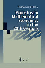 USED (LN) Mainstream Mathematical Economics in the 20th Century by PierCarlo Nic