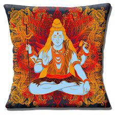 Shiva Funda de Cojín Indio Religioso Dios Adorno Multicolor 40.6cm 40 Cm