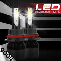 XENTEC LED HID Headlight kit 9004 HB1 6000K for Nissan Maxima 1985-1999