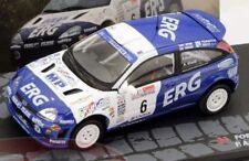 DIECAST 1/43 ERG FORD FOCUS RS WRC #6 WINNER RALLY SAN MARINO 2001 P.ANDREUCCI