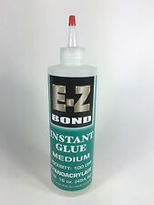 "E-Z Bond ""Medium"" Instant Cyanoacrylate Glue 16 o.z. 100 CPS, CAI-16100"