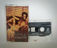 Celine Dion - The Colour Of My Love Cassette