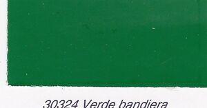 Smalto poliuretanico Clipper Stoppani monocomponente 30324 Verde Bandiera Brill