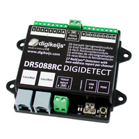 Digikeijs DR5088RC - 16 Channel RailCom LocoNet Occupancy Feedback Detector