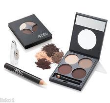 Ardell Eye Brow Defining Kit Defining Palette,Wax Grooming Pencil Duo Brush