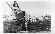 More details for lot (zc) crashed fortress fassberg world war 2  raf unused plain back pcs 1945