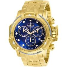 Invicta Subaqua 26726 Men's Gold-Tone Chronograph Watch with Blue Dial