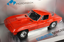 Exoto Diecast Corvette StingRay Moroso Drag Racer Coupe 1967 1/18