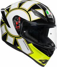 AGV K1 GOTHIC 46 Sport Helmet (Fluo Yellow/Black/White) L (Large)