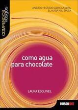Como agua para chocolate (Compendios Vosgos series), , Very Good Book