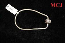 'Excellent Cond' Silver and Diamond Michael Hill Charm Bracelet