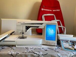 Husqvarna Viking Designer Diamond Deluxe sewing embroidery machine