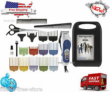 WAHL PROFESSIONAL HAIRCUT TRIMMER 20 PIECE HAIR CUT CLIPPERS KIT BARBER SET PRO