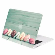 """Macaroon Graphics Rubberized Hard Case Cover for Macbook Air 13"""" A1369 & A1466"""