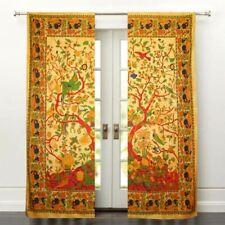 Indian Mandala Window Door Curtain Tree of Life Wall Hanging Home Decor Tapestry