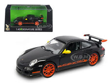 PORSCHE 911 997 GT3 RS BLACK 1/43 DIECAST CAR MODEL BY ROAD SIGNATURE 43204