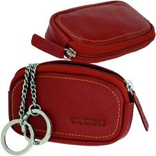 Chiemsee étui de clés - Feu rouge - Sacoche à clés cuir - Rouge - Key Exchange