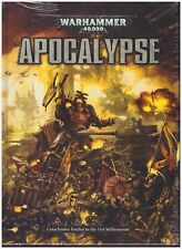 Warhammer 40K APOCALYPSE 6th Edition Rule-book - Hardcover Shrink Wrapped.