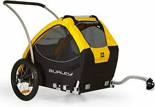 Bike Pet trailer For All Size Dog Yellow 75 lb capacity Freeship