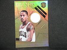 Derrick Rose 2010-11 Panini Gold Standard Stars Jersey (79/99) Chicago Bulls #23