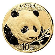 China Panda 10 Yuan 2018 999er Gold 1g