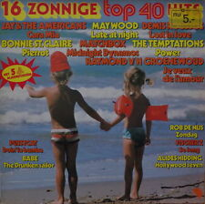 16 ZONNIGE TOP 40 HITS HOLLAND PRESS  LP