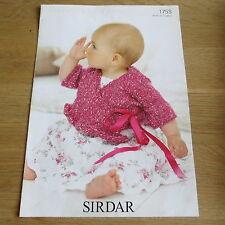 Sirdar Tiny Tots DK - Pattern No. 1755 - Cardigan