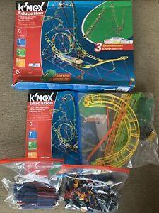K'NEX Education STEM Explorations: Roller Coaster Building Set #77078 - Complete