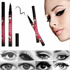 Ultra Strong Black Eyeliner Waterproof Liquid Eye Liner Pen Make Up Beauty -  UK