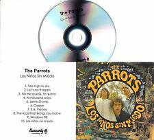 THE PARROTS Los Ninos Sin Miedo 2016 UK 10-trk promo test CD