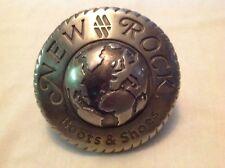 NEW ROCK Boots & Shoes Vintage Metal Plaque/Badge Sign