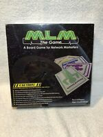 MLM The Game, Network Marketing Board Game RARE Factory Sealed