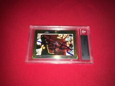 Gary Payton 2013 Leaf Masterpiece Cut Signature signed auto autographed card 1/1