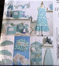 Home Decor pattern Sewing Laundry Room storage box organizer ironing board cover