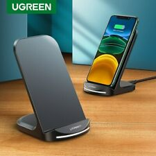 Ugreen Qi Wireless Charger 10W Fast Charging Stand Dock Fr iPhone X Samsung S9